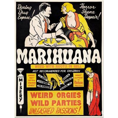 Anti-Marijuanna Poster -...