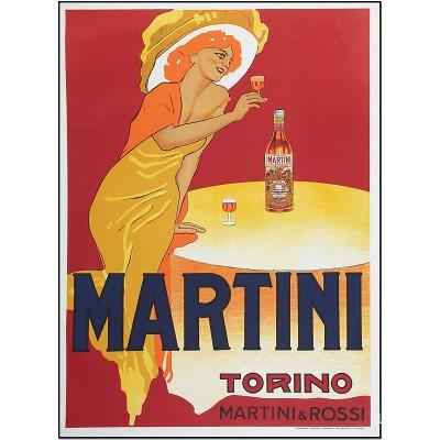 Martini Torino - Wine poster