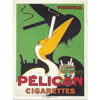 Pelican Cigarette, Virginia...