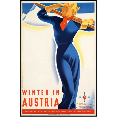 Winter in Austria - Vintage...
