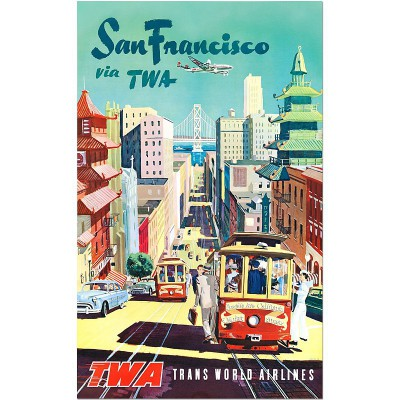 San Francisco via TWA -...
