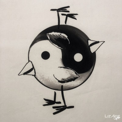 Yin Yang Bag by Mr. Kriss