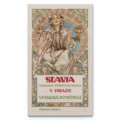 Slavia (1907) - Alfons Mucha