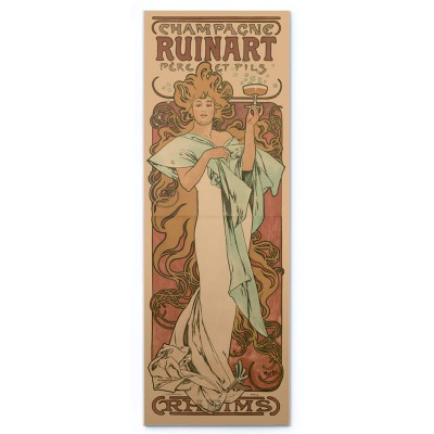 Champagne Ruinart (1896) -...