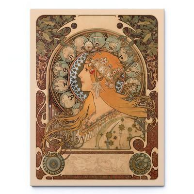 Zodiaque (1896) - Alfons Mucha