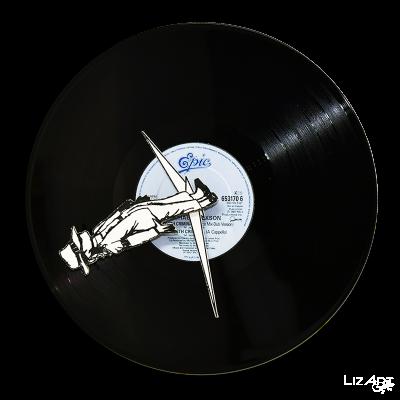Vinyl wall clock by Mr....